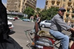 Risking life and limb across a Cairo street