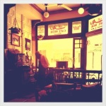 Cafe Riche nr. Tahrir, where the demonstrators would come to discuss their options